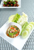 Nam Prik Thai Food Royalty Free Stock Photos