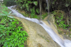 Nam Pu Jed See waterfall,Chiang Mai,Thailand Royalty Free Stock Photo