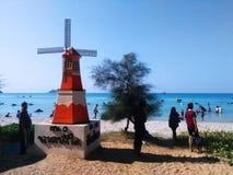 Nam Sai海滩 免版税图库摄影