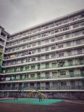 Nam Shan Estate. This is a picture of the old hong kong public housing estates Royalty Free Stock Photography