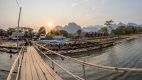 Nam Song River, Laos Stock Photos
