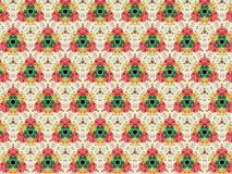 Nam toe en bloeit naadloze patronen Stock Afbeeldingen