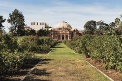 Nam tuin met het inbouwen van de achtergrond toe royalty-vrije stock fotografie