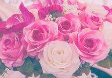 Nam valse bloem met de hand gemaakte het naaien bloemen uitstekende toon toe Stock Foto's