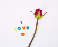 Nam voor Liefde toe Royalty-vrije Stock Afbeeldingen