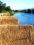 Nam Xong River in Vang Vieng/Laos Immagini Stock Libere da Diritti