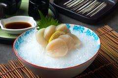 Free Nama Hotate Fresh Scallop Shashimi Sushi Stock Photos - 117844503