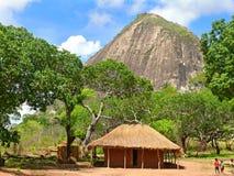 NAMAPA, MOÇAMBIQUE - 6 DESEMBER 2008: Surpreendendo, cenário bonito Imagem de Stock