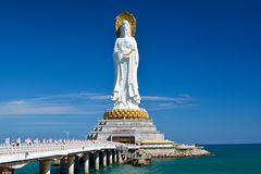 Guan Yin Buddha- SanYa, China Royalty Free Stock Photography