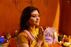 Namaskar Royalty Free Stock Photos