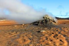 Namaskard mud pit, Iceland Stock Photos