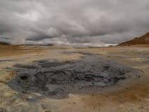 Namaskard Myvatn Islândia imagem de stock