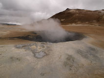 Namaskard Myvatn Islândia Imagens de Stock Royalty Free