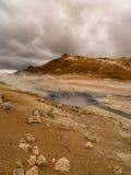Namaskard Myvatn Islanda Fotografia Stock Libera da Diritti