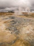 Namaskard Myvatn Islanda Fotografie Stock Libere da Diritti