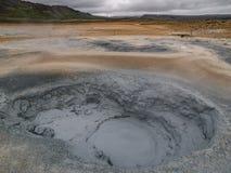 Namaskard Myvatn Islanda Immagine Stock Libera da Diritti