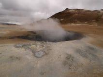 Namaskard Myvatn Islanda Immagini Stock Libere da Diritti