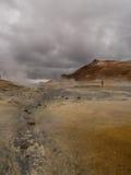 Namaskard Myvatn Islande photographie stock libre de droits