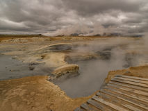 Namaskard Myvatn Islande photographie stock