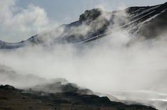Namaskard Sulfur Field Steam Royalty Free Stock Photo