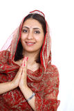 Namaste Royalty Free Stock Image