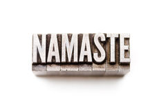 Namaste Stock Afbeelding