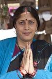 Namaste india Royalty Free Stock Photo