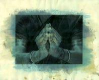Namaste Mudra Imagens de Stock Royalty Free