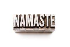 Namaste Stock Image