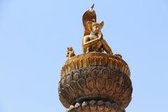 Namaste Statue. Religious statue greeting Namaste Stock Photos