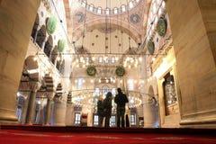 Namaz in Mosque stock image