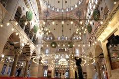 Namaz in Mosque stock photography