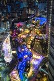 Namba parks top view, Osaka, Japan with City skyline stock photography