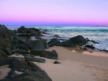 Nambucca Przewodzi zmierzch Australia obrazy royalty free