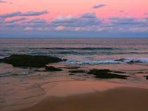 Nambucca Przewodzi zmierzch Australia zdjęcie stock
