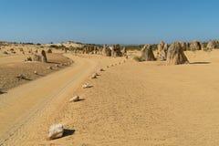 Nambung国家公园,西澳州 免版税库存图片