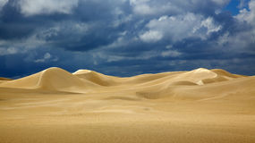 Nambung National Park Dunes Royalty Free Stock Photo