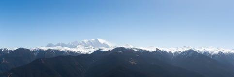Namcha barwa panorama Stock Image