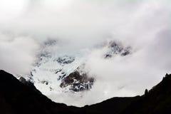 Namche barwy góry lodu śnieżny szczegół Obraz Stock