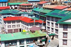 Namche Bazaar Royalty Free Stock Images
