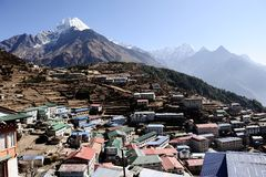 Namche Bazaar. Stock Photography