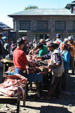 Namche Bazaar Market Royalty Free Stock Photo