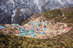 Namche Bazaar, Nepal Royalty Free Stock Images