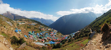 Namche Bazar Stock Photos