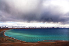 Namco de lac sky Photos libres de droits