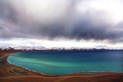 Namco del lago sky Fotografie Stock Libere da Diritti