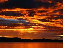 Namco-Sonnenuntergang lizenzfreie stockfotos