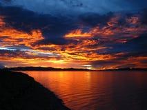 Namco-Sonnenuntergang stockbilder