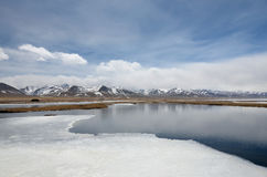 Namco thawing lakes Stock Images