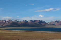 Namco Tibet scenery Royalty Free Stock Images